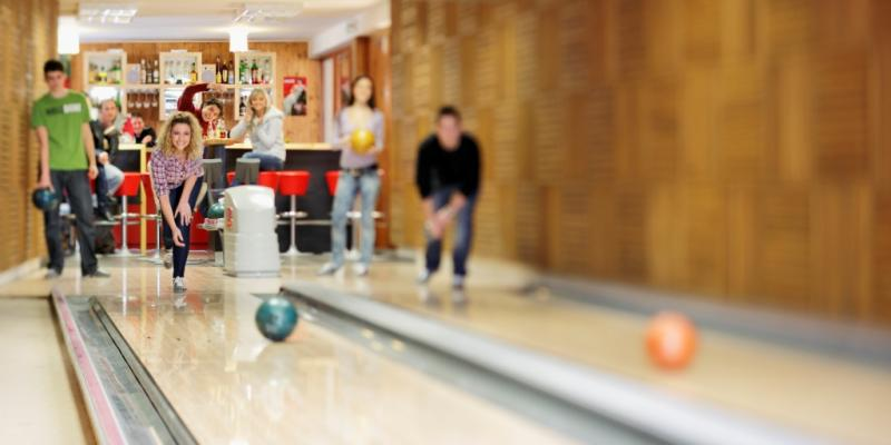 Bowling v hoteli Mikulášska chata