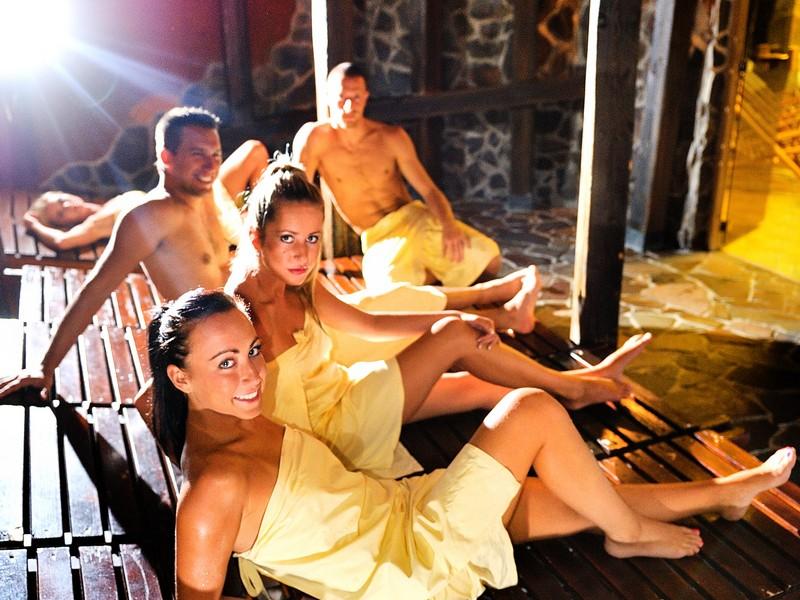 Keltský saunový svet