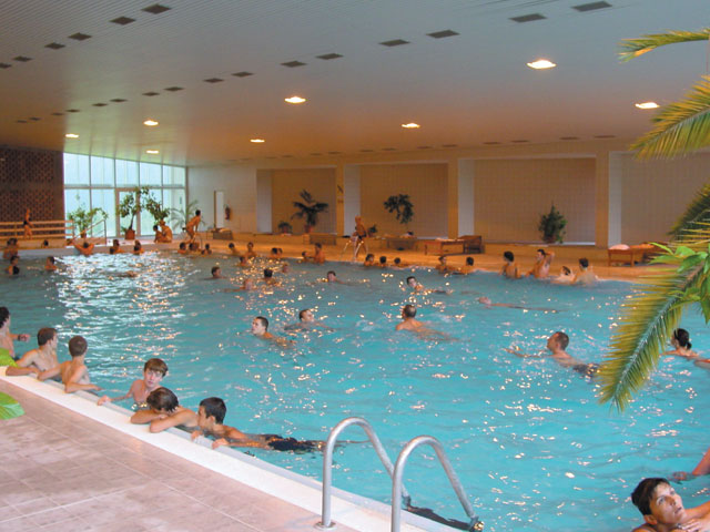 Vnútorný termálny bazén