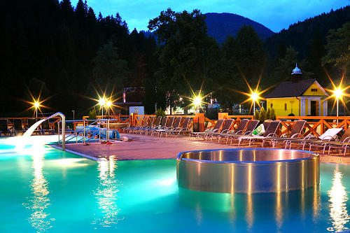 Kupele Lucky Aqua vital spa park