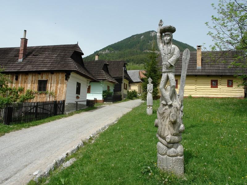 Obec Vlkolínec
